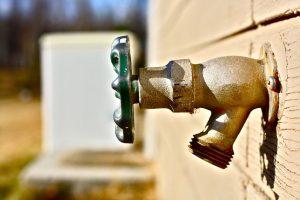 outdoor water spigot